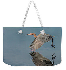 Fly By Reflection Weekender Tote Bag