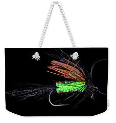 Weekender Tote Bag featuring the photograph Fly-fishing 1 by James Sage