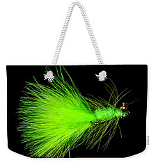 Weekender Tote Bag featuring the photograph Fly-fishing 2 by James Sage