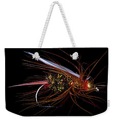 Weekender Tote Bag featuring the photograph Fly-fishing 4 by James Sage