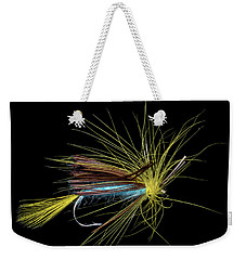 Weekender Tote Bag featuring the photograph Fly-fishing 6 by James Sage