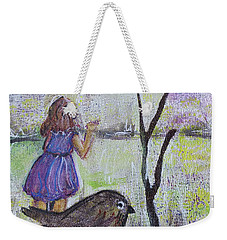 Fly, Fly Away Weekender Tote Bag