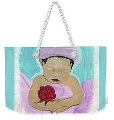 Fly Happy Unique Angel Again Weekender Tote Bag by Talisa Hartley