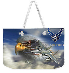 Fly Like The Eagle Weekender Tote Bag