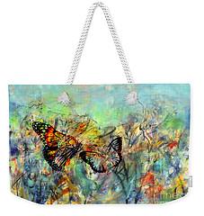 Fly Me Two The Moon Weekender Tote Bag