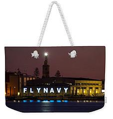 Fly Navy Weekender Tote Bag