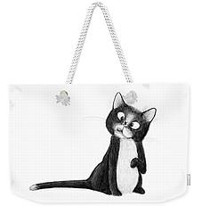 Fly On Cat Weekender Tote Bag