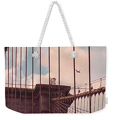 Fly Over Brooklyn  Weekender Tote Bag