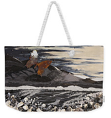 Fly Through A Troubled Sky Weekender Tote Bag by Stanza Widen