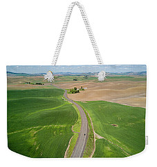 Flying Above Palouse Weekender Tote Bag