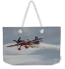 Flying Acrobatic Plane Weekender Tote Bag