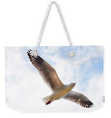 Flying Away From The Madness Weekender Tote Bag