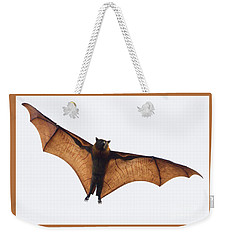 Flying Bat Weekender Tote Bag