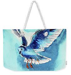 Flying Bird Weekender Tote Bag by Kovacs Anna Brigitta