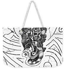 Flying Castle Weekender Tote Bag