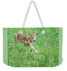 Flying Fawn Weekender Tote Bag