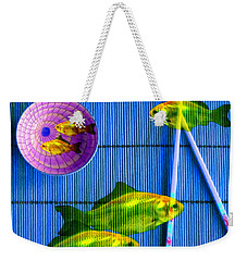 Flying Fish And The Pink Moon Weekender Tote Bag