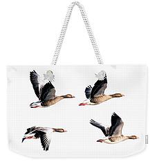 Flying Geese Weekender Tote Bag