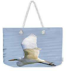 Flying Heron Weekender Tote Bag