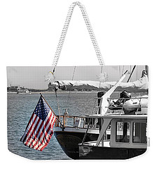 Flying Our Stars And Stripes Weekender Tote Bag