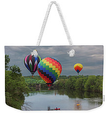 Flying Over The Androscoggin Weekender Tote Bag