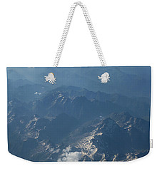 Flying Over The Mountains Weekender Tote Bag