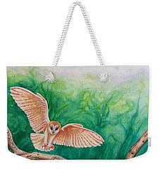 Flying Owl Weekender Tote Bag