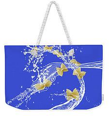 Flying Pasta Weekender Tote Bag