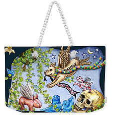 Flying Pig Party 2 Weekender Tote Bag