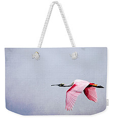 Flying Pretty - Roseate Spoonbill Weekender Tote Bag