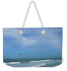 Flying Solo Weekender Tote Bag