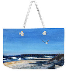 Flying Solo Weekender Tote Bag