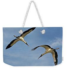 Flying The Friendly Sky Weekender Tote Bag