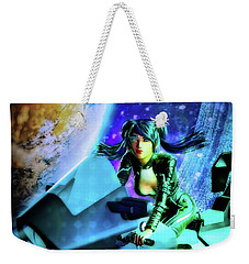 Flying Through Galaxies Weekender Tote Bag