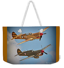 Flying Tigers Two Weekender Tote Bag