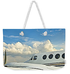 Flying Time Weekender Tote Bag by Carolyn Marshall
