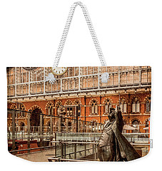 London, England - Flying Time Weekender Tote Bag