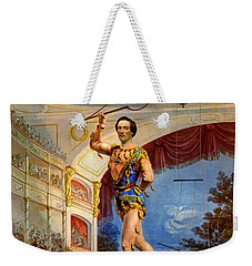 Weekender Tote Bag featuring the photograph Flying Trapeze 1850 by Padre Art