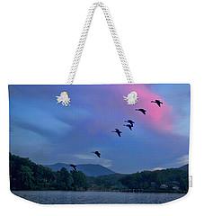 Flying United Weekender Tote Bag