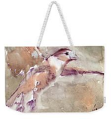 Flying Weekender Tote Bag by Vali Irina Ciobanu