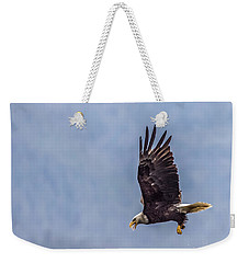 Flying With His Mouth Full.  Weekender Tote Bag by Timothy Latta