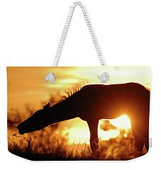 Foal Silhouette Weekender Tote Bag