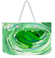 Weekender Tote Bag featuring the photograph Foam1 by Fred Wilson