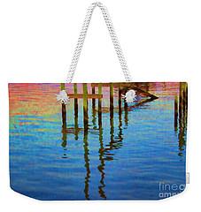 Focus On The Water Weekender Tote Bag