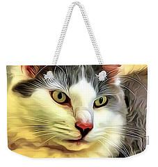 Focused Feline Weekender Tote Bag