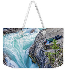 Weekender Tote Bag featuring the photograph Focused by Ronald Santini
