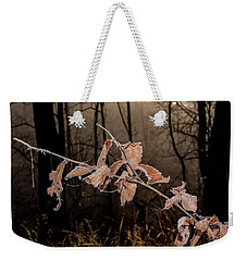Fog And Frost Weekender Tote Bag