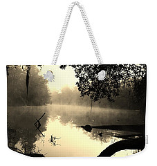 Fog And Light In Sepia Weekender Tote Bag by Warren Thompson