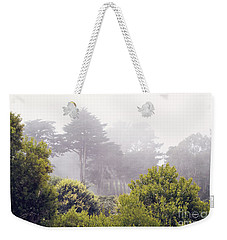 Weekender Tote Bag featuring the photograph Fog At Lands End by Cindy Garber Iverson
