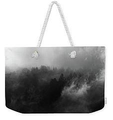 Fog Forest Weekender Tote Bag